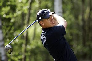 Robert Karlsson shot a two-under 70.