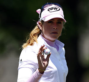 Paula Creamer bogeyed Nos. 16 and 18 for the second straight day.