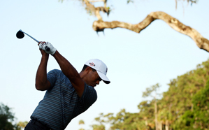 Tiger Woods has been struggling off the tee.