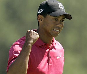 Tiger Woods shot a final-round 69 Sunday.