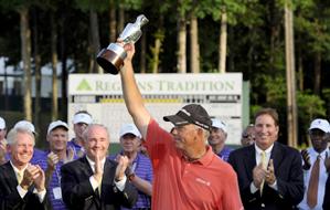 Tom Lehman won his third Champions event of the season on Sunday.