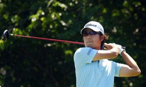 Kevin Na shot a two-over 74 on Saturday.