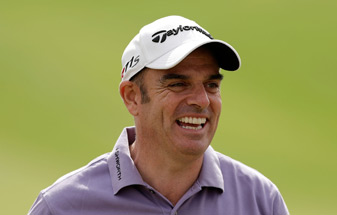 Paul McGinley holed the winning putt for Europe at the 2002 Ryder Cup.