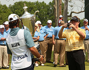 Allen hopes to become the initial player to win first as a senior and then on the PGA Tour.