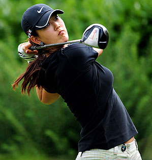 Michelle Wie shot a disappointing 73 in the first round.