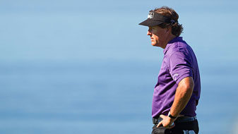 Phil Mickelson made seven bogeys and two birdies.