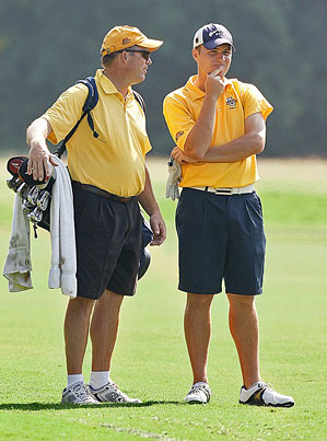 Gary (left) and Mike teamed up at the '08 U.S. Amateur.