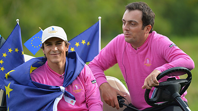 Team Europe, including members Thorbjorn Olesen and Francesco Molinari, will try to break a losing streak that spans the last six events.