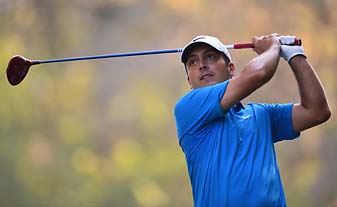 Francesco Molinari has homefield advantage at the Italian Open golf at Circolo Golf in Torino, and he trails Marcus Fraser by one shot after 54 holes.
