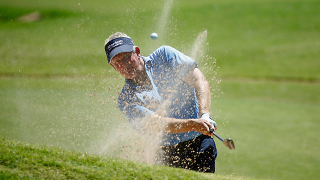 Colin Montgomerie shot a 71 in the second round.