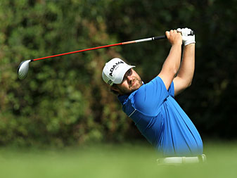 Ryan Moore is sponsored by Arnold Palmer's new clothing line.