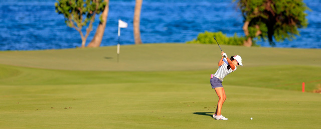 Paola Moreno made four birdies and no bogeys on Saturday.