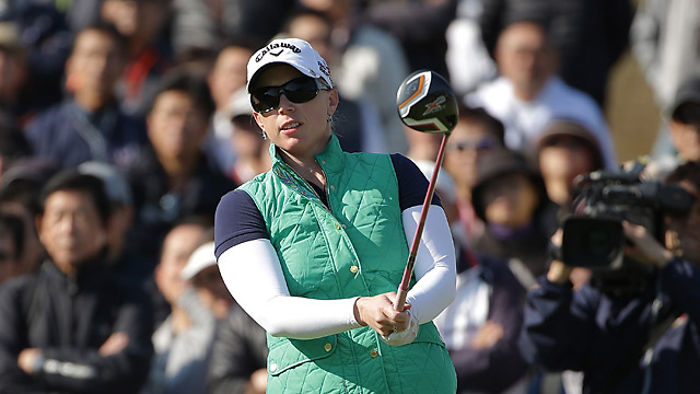 Morgan Pressel has the lead after round 1 at the Mizuno Classic.