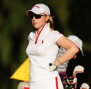 Morgan Pressel had a personal representation deal with Stanford.