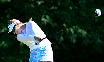 Morgan Pressel beat Na Yeon Choi on the first playoff hole.