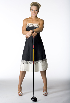 Natalie Gulbis was voted the No. 1 Choice for LPGA Playing Partner.