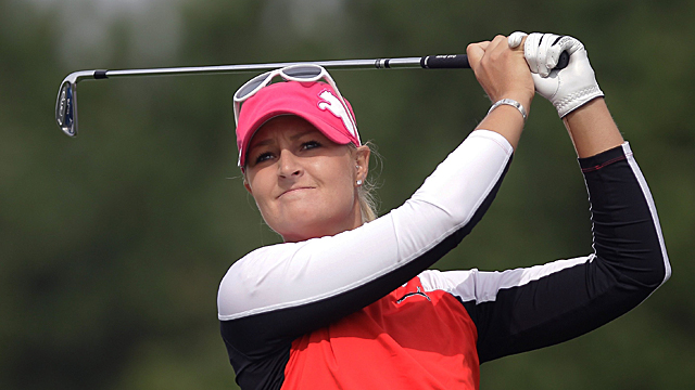 Anna Nordqvist's second-round 67 was good enough for a share of the lead.
