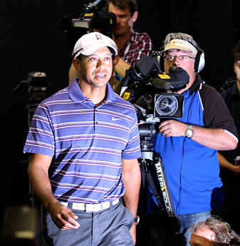 Tiger Woods has been without a bag sponsor since AT&T dropped him nearly two years ago.