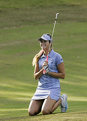 The victory was the second of the season for Paula Creamer.