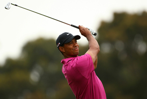 Tiger Woods made three birdies and a bogey in the first round.