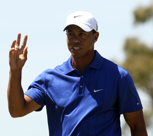 Tiger Woods has made only one bogey through two rounds.