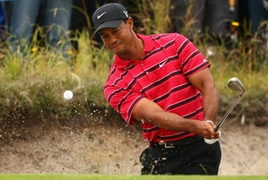 Tiger Woods made four birdies, two eagles and two bogeys on Sunday.