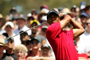 Tiger Woods has played in the Masters every year since 1995.