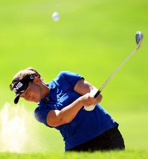 Angela Stanford won the Bell Micro LPGA Classic earlier this season.