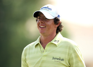 Rory McIlroy leads the Race to Dubai competition.