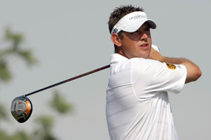 Lee Westwood made four birdies and a bogey on Friday.