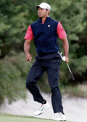 Is Tiger Woods on the cusp of winning a tournament?