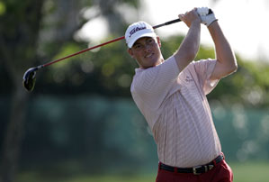 Tag Ridings has split time between the PGA Tour and the Nationwide Tour this year.