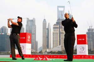 Tiger Woods and Phil Mickelson are Nos. 1 and 2 in the world rankings.