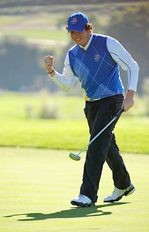 Rory McIlroy earned one victory on the PGA Tour last year at Quail Hollow and helped the European Ryder Cup team to victory at Celtic Manor.