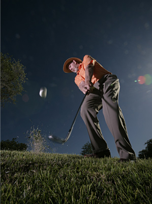 Keep it in the fairway at all costs, because when you have to play from rough your scores will suffer.