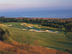 Birdies are hard to find at Tom Fazio's Pelican Hill.