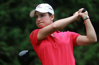 Lorena Ochoa at the Lacoste Open in France in October.
