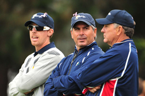 Fred Couples, center, found the right playing partners this week for his two best players.