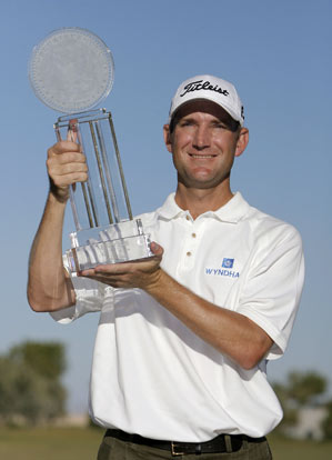 George McNeill secured his Tour card for two years.