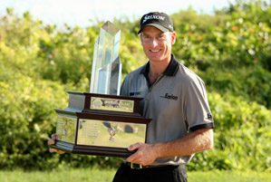 Jim Furyk beat Padraig Harrington in a playoff.
