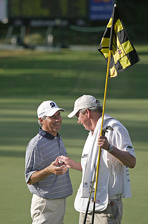 The Administaff Small Business Classic was Fred Couples fourth Champions Tour victory of 2010.