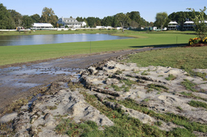 """PGA Tour officials compared conditions at Annandale Golf Club to a """"disaster zone."""""""