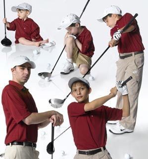 Growth sport: As your lil' golfer grows, you must grow as a parent.