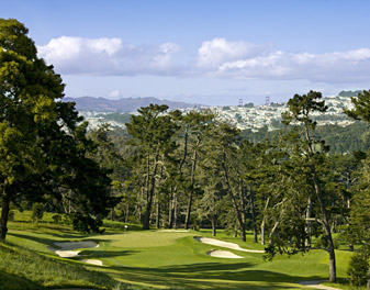 San Francisco's Olympic Club, venue for the 2012 U.S. Open in June.