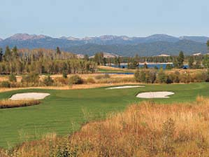 The elevation at Tamarack helps your ball travel, and you'll need those extra yardson the 246-yard par-3 17th