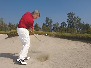 How to leave your sand shots within easy two-putt range, pg 99 02/07