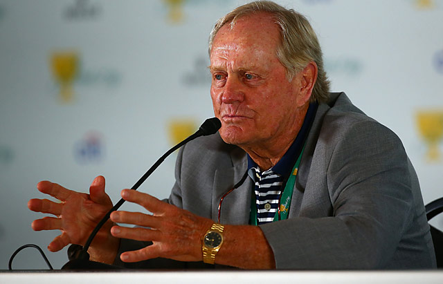 Jack Nicklaus will play in a father-son exhibition Dec. 12-15 at the Ritz-Carlton Golf Club.