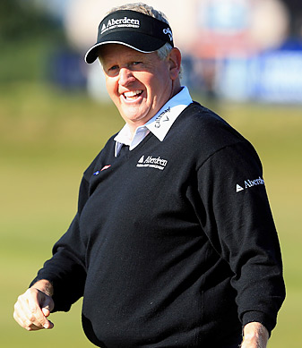 Colin Montgomerie received 51 percent of the vote to get into the Hall of Fame.