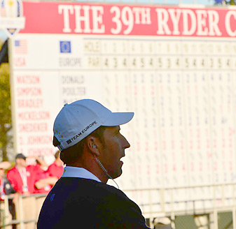 Jose Maria Olazabal captained the European team to a comeback victory at Medinah.