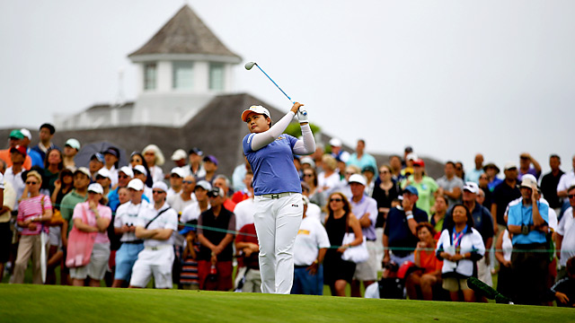 Inbee Park won the U.S. Open by four shots for her third straight major title.